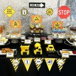 Construction birthday party. TONS of ideas for cute party food!!