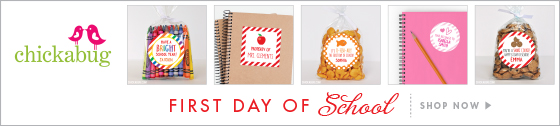 Personalized First Day of School Gifts, Stickers and More!