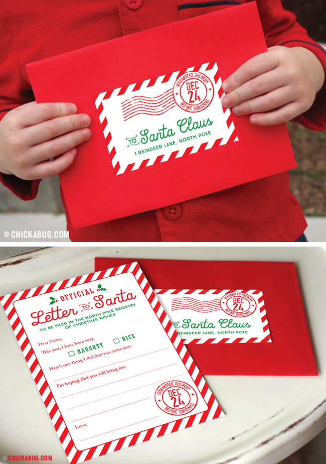 Start a new Christmas tradition with this special Official Letter to Santa kit! Set of 4 letters, envelopes and mailing labels.