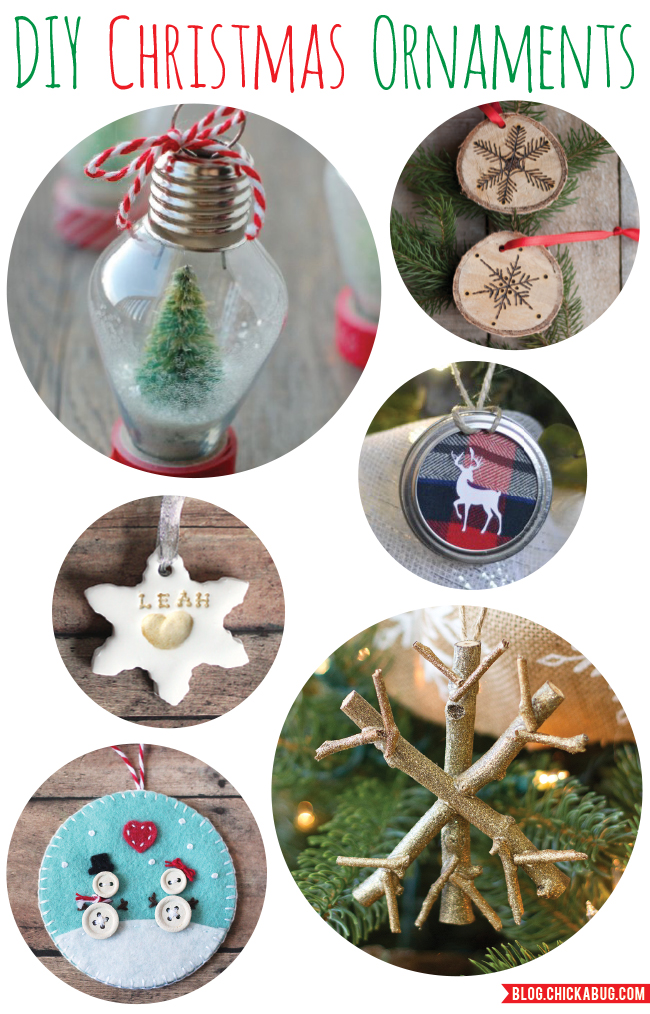 Creative and pretty DIY Christmas ornaments that belong on your must-make list this year!