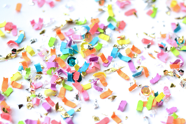 Confetti from The Confetti Bar