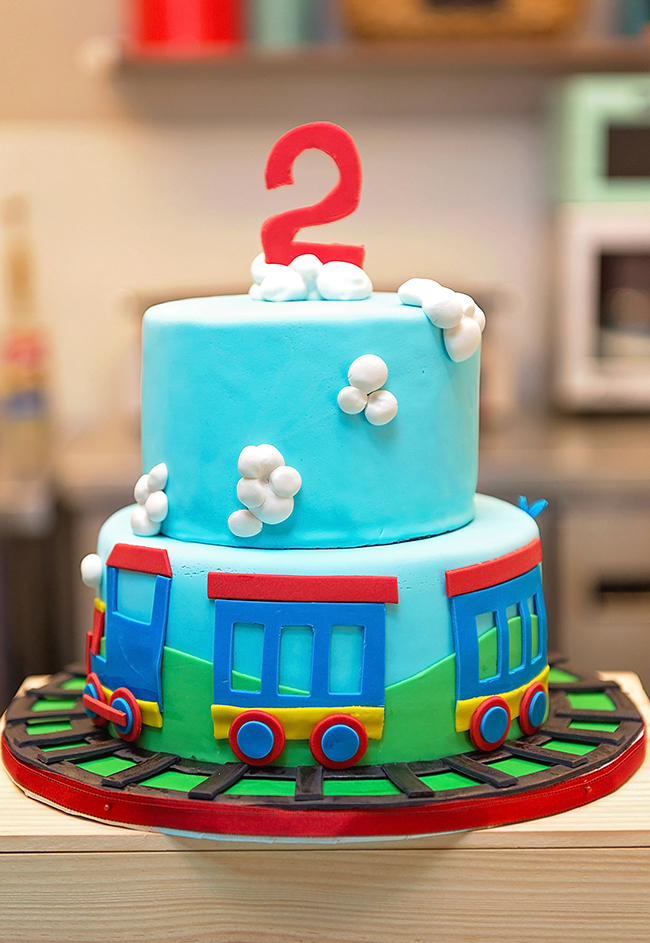 Amazing Train Birthday Party Andrew Is 2 Chickabug Personalised Birthday Cards Veneteletsinfo