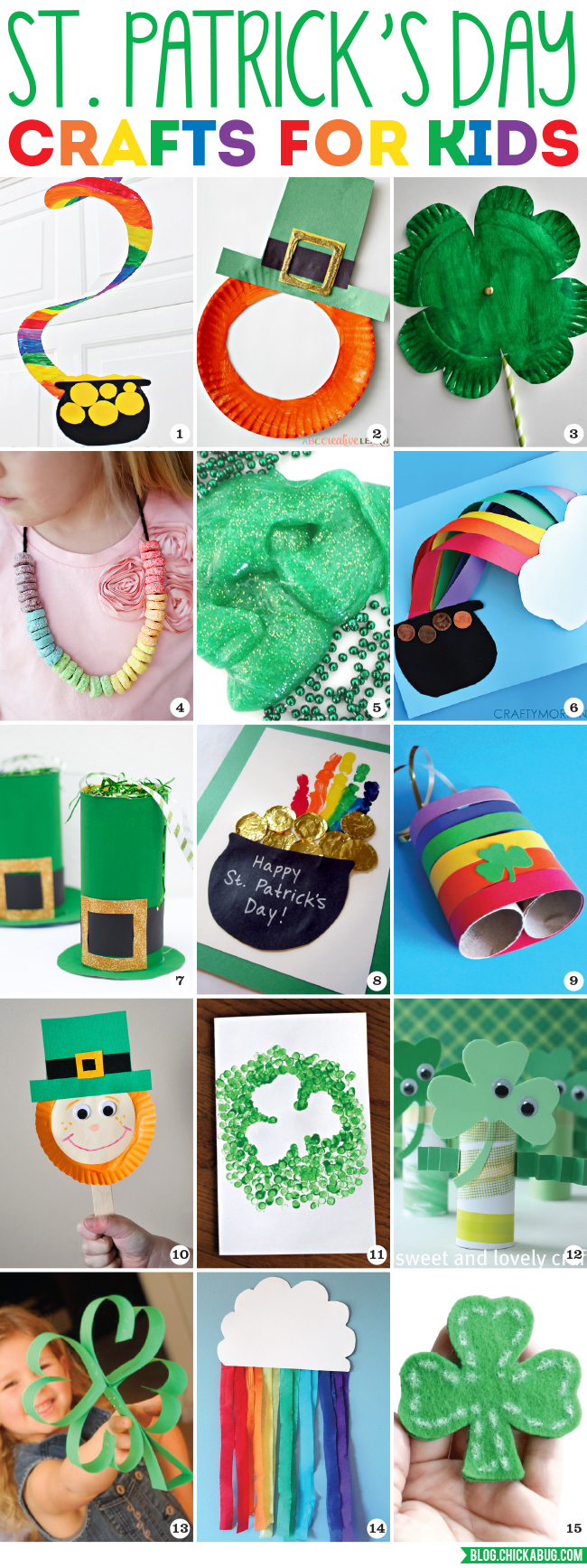 St. Patrick's Day Crafts for Kids. Celebrate St. Patrick's Day with these cute and easy holiday crafts!