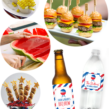 Fun ways to make your next BBQ a memorable one! #4thofjuly #bbq #cookout
