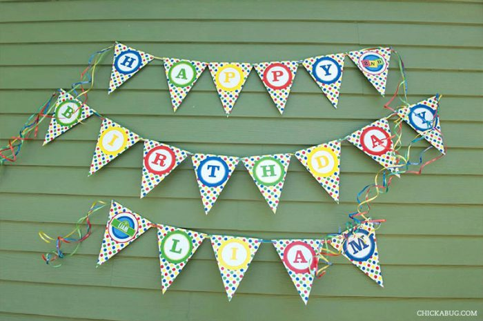 Sesame Street Party Pennant Banner (INSTANT DOWNLOAD)