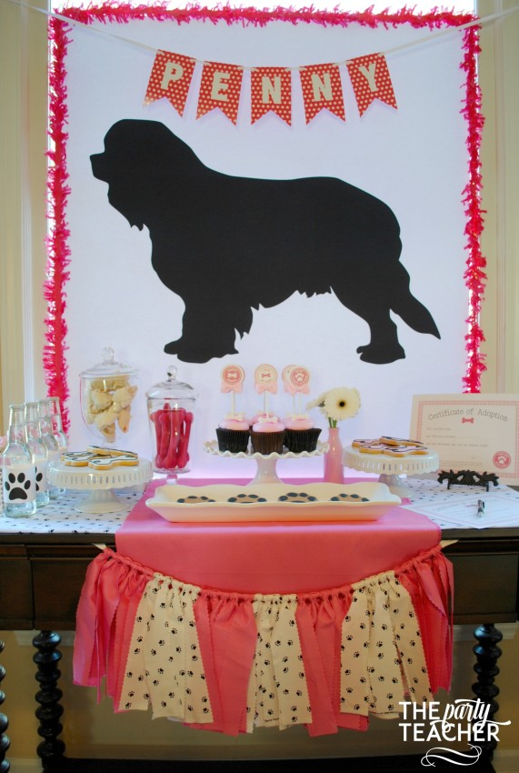 puppy party freebies