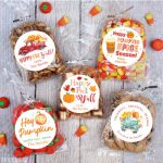 Personalized fall stickers!