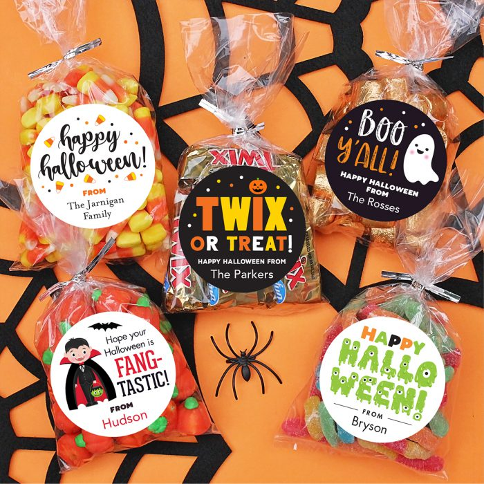 Personalized Halloween stickers!