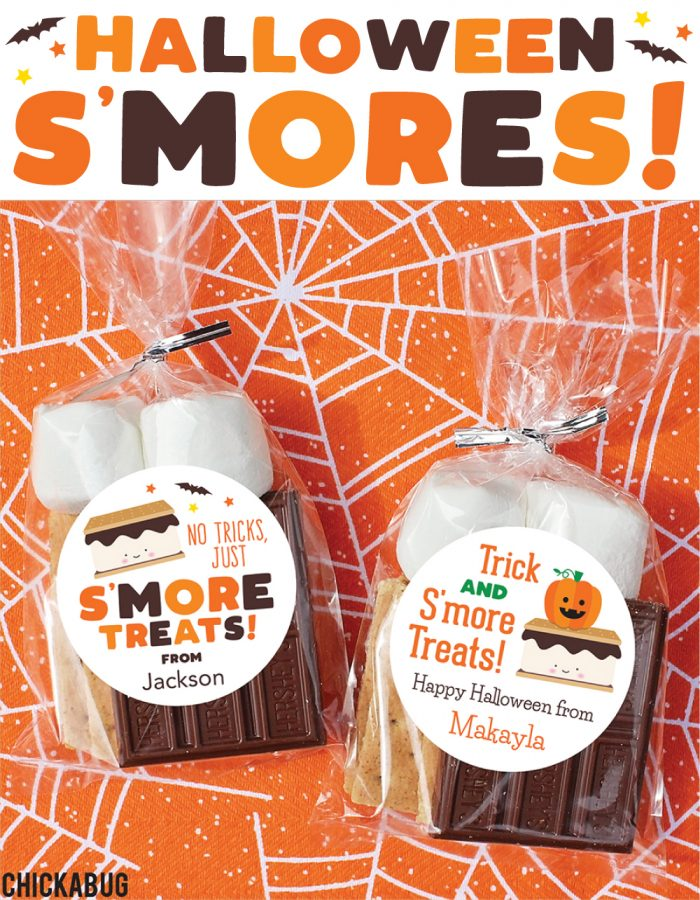 Halloween S'mores stickers - Chickabug