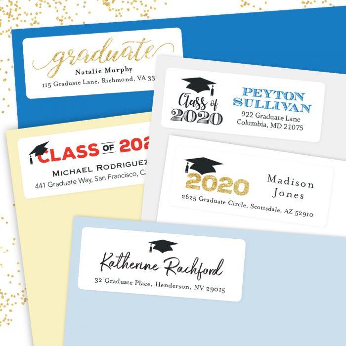 2020 Graduation Address Labels