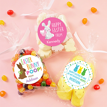 Adorable Easter stickers & candy bags from Chickabug!