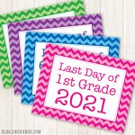 Free printable signs for the last day of school 2021