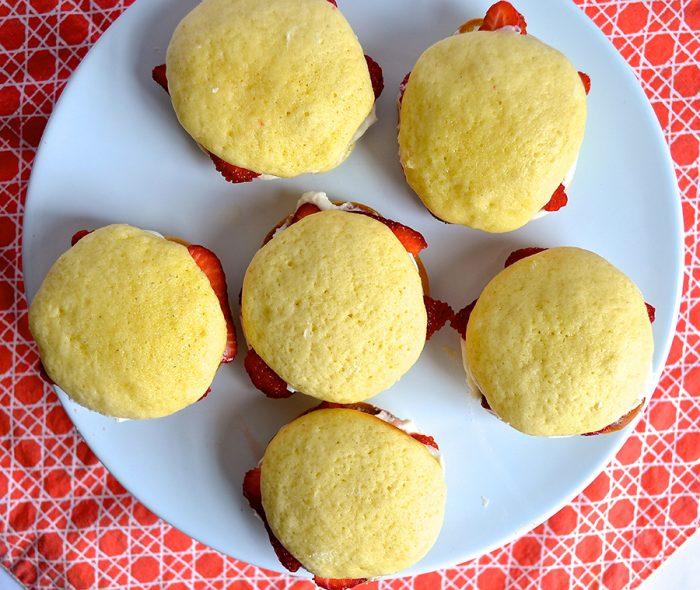 Strawberry Shortcake Whoopie Pies Recipe